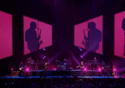 Simply Red Tour Visuals